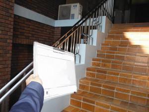 階段タイル張替 (1)