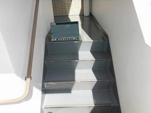 階段床防水 (3)